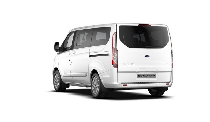 FORD TOURNEO CUSTOM HYBRID pieno